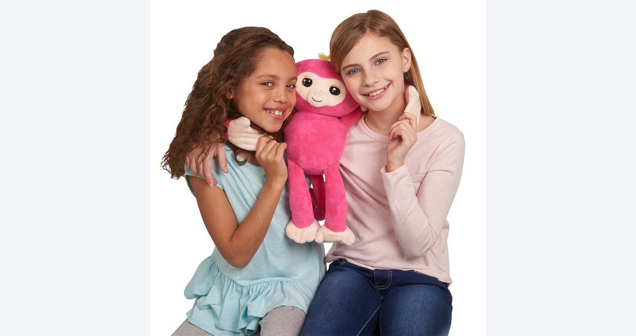 Fingerlings HUGS Bella Pink Monkey Plush