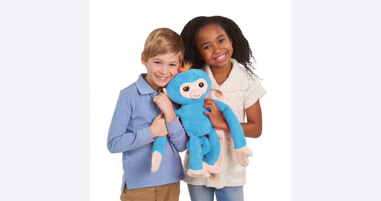 Fingerlings HUGS Boris Blue Monkey Plush