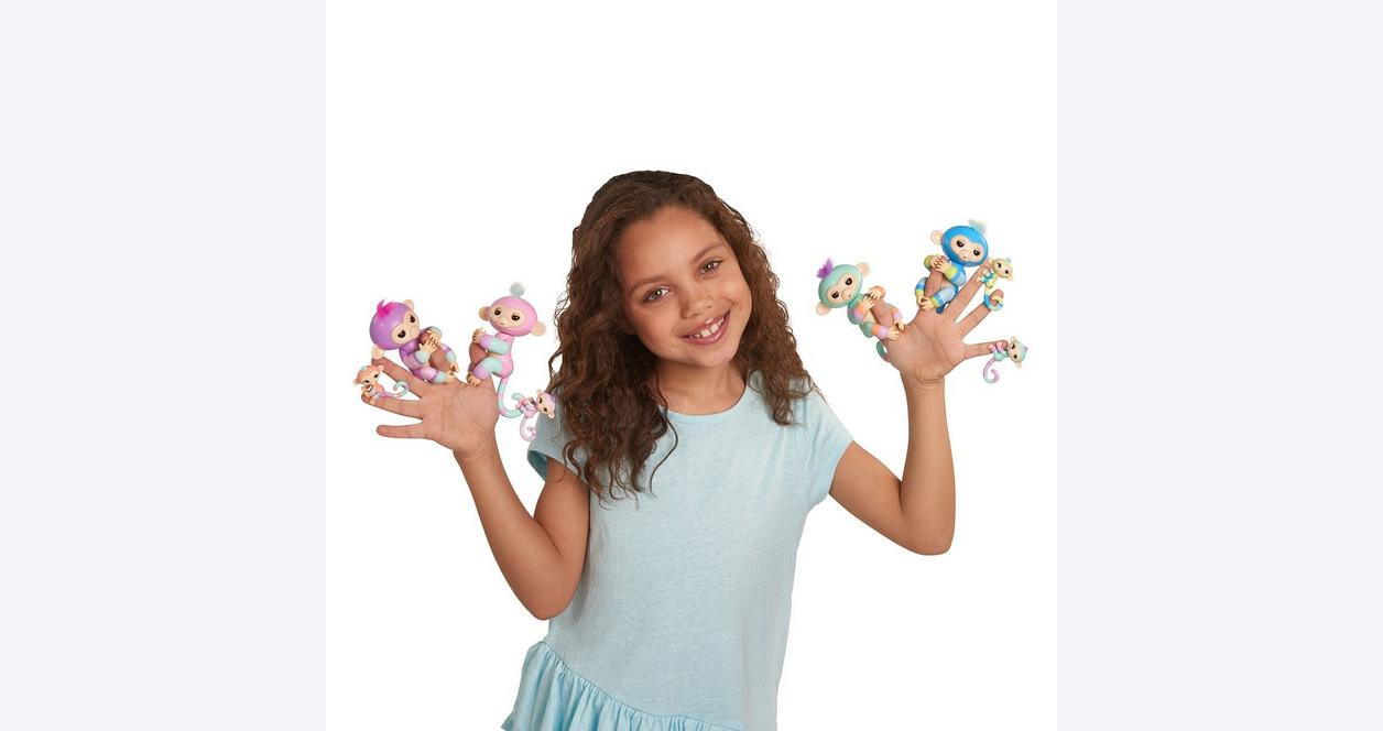Fingerlings Billie and Aiden The BFF Collection Interactive Figure 2 Pack