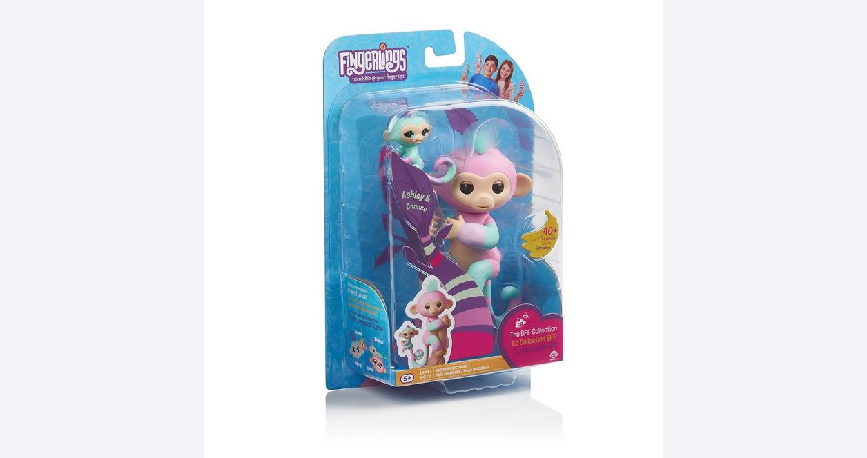Fingerlings BFF Collection Ashley and Chance