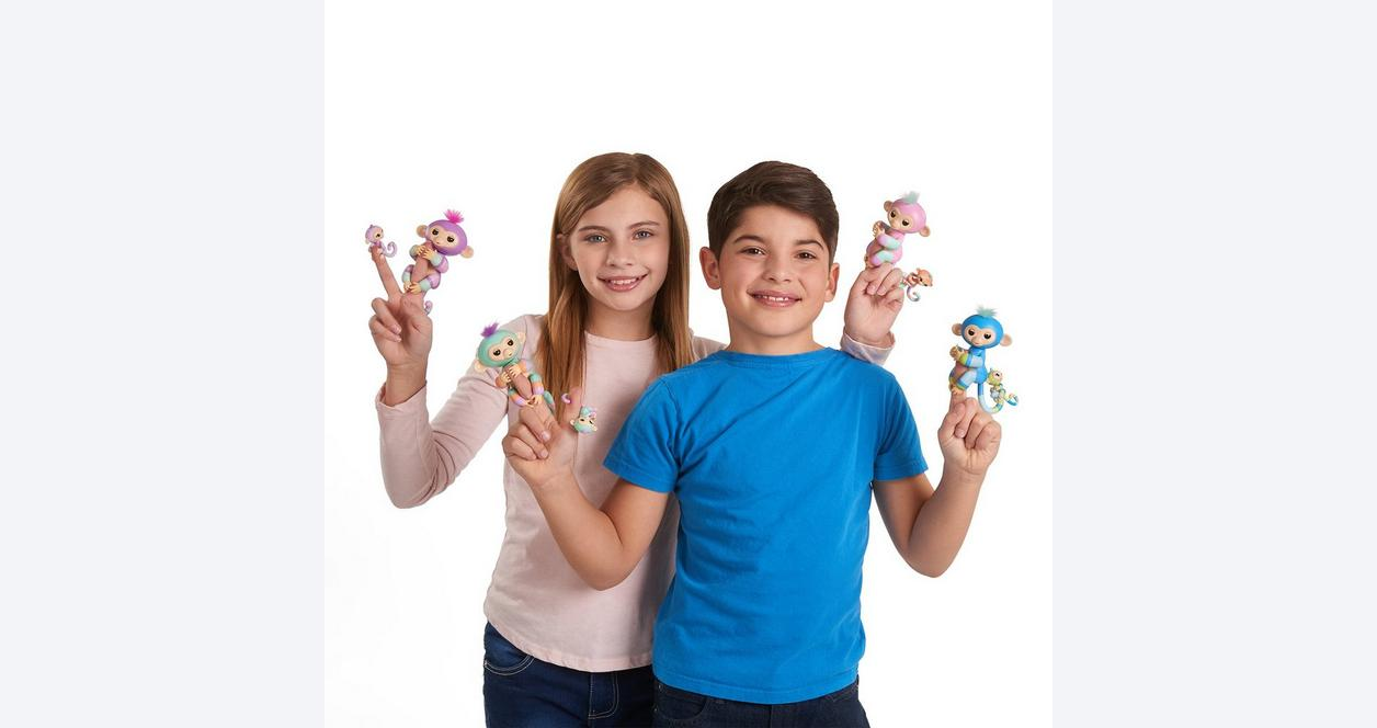 Fingerlings Danny and Gianna The BFF Collection Interactive Figure 2 Pack