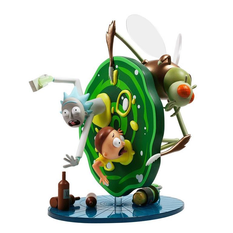 Rick and Morty Collectible Statue