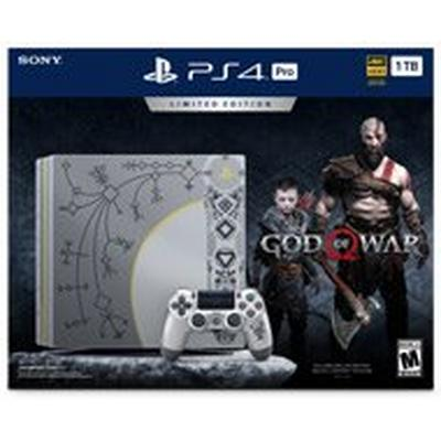 PlayStation 4 1 TB Pro God of War Limited Edition Bundle