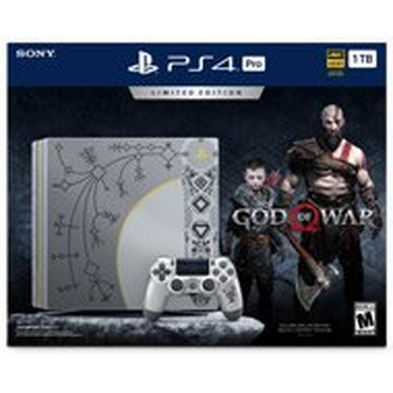 PlayStation 4 Pro 1TB God of War Limited Edition System