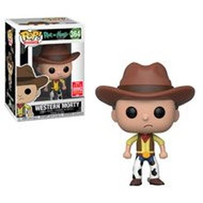 POP! TV: Rick & Morty - Western Morty - Summer Convention 2018 Exclusive - Only at GameStop