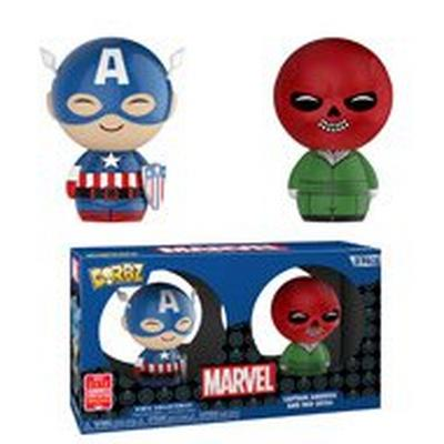 Dorbz: Marvel 2 Pack - Captain America & Red Skull - Summer Convention 2018 Exclusive
