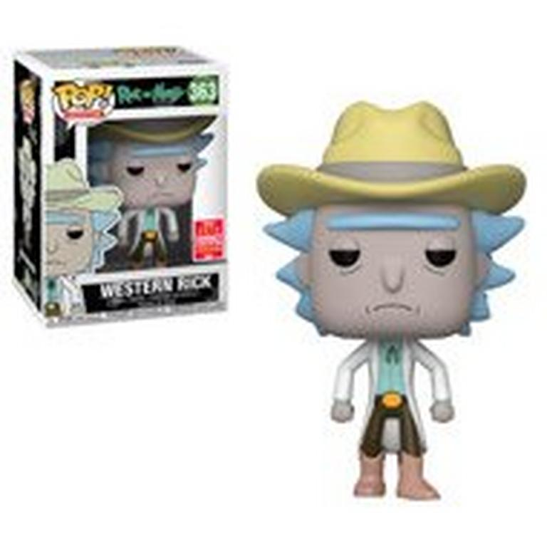 POP! TV: Rick & Morty - Western Rick - Summer Convention 2018 Exclusive - Only at GameStop
