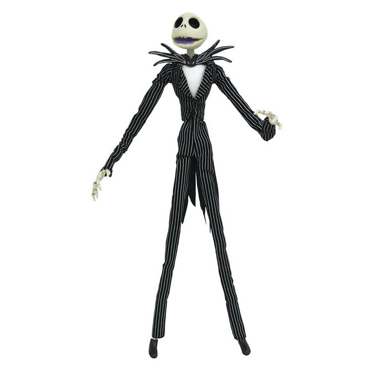 The Nightmare Before Christmas Jack Skellington Silver Anniversary Action Figure