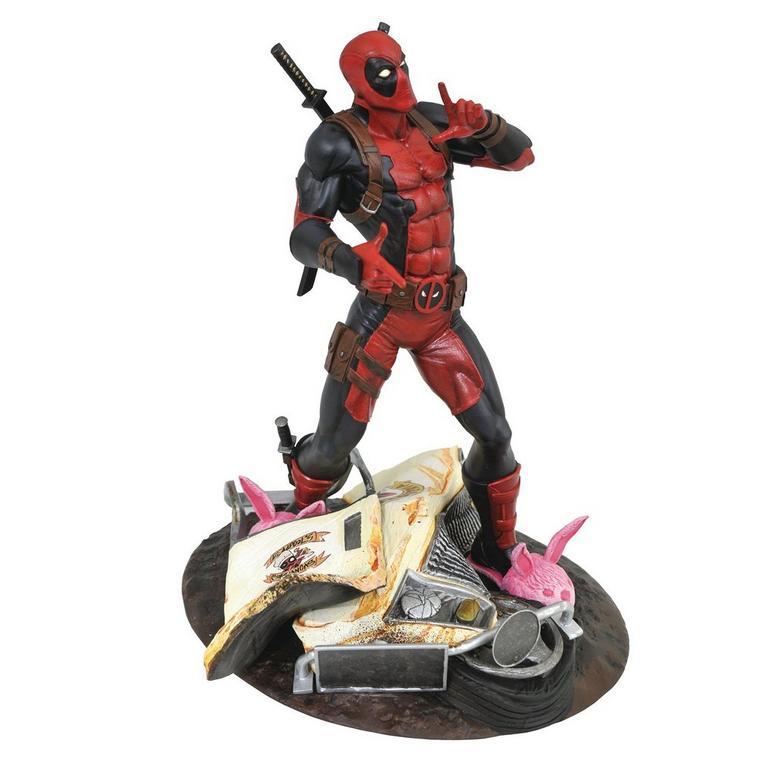 Marvel Gallery Taco Truck Deadpool Pvc Statue