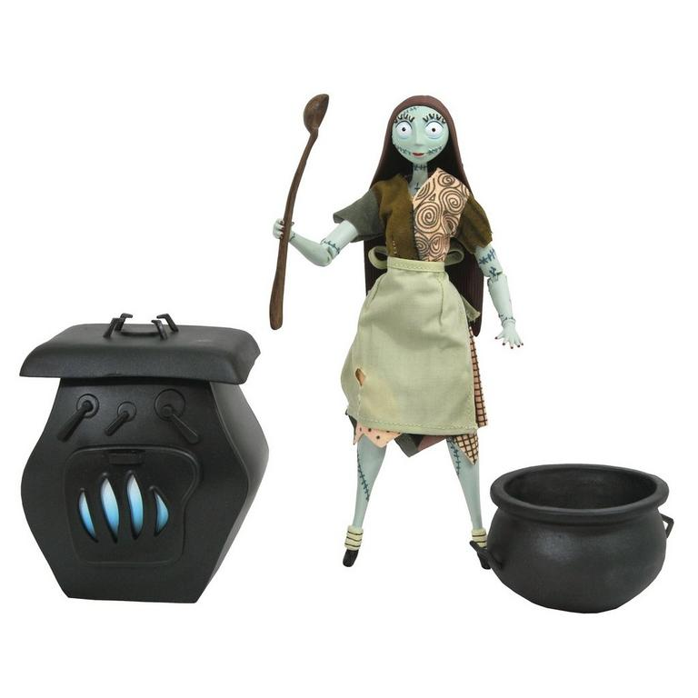 The Nightmare Before Christmas Sally Silver Anniversary Action Figure