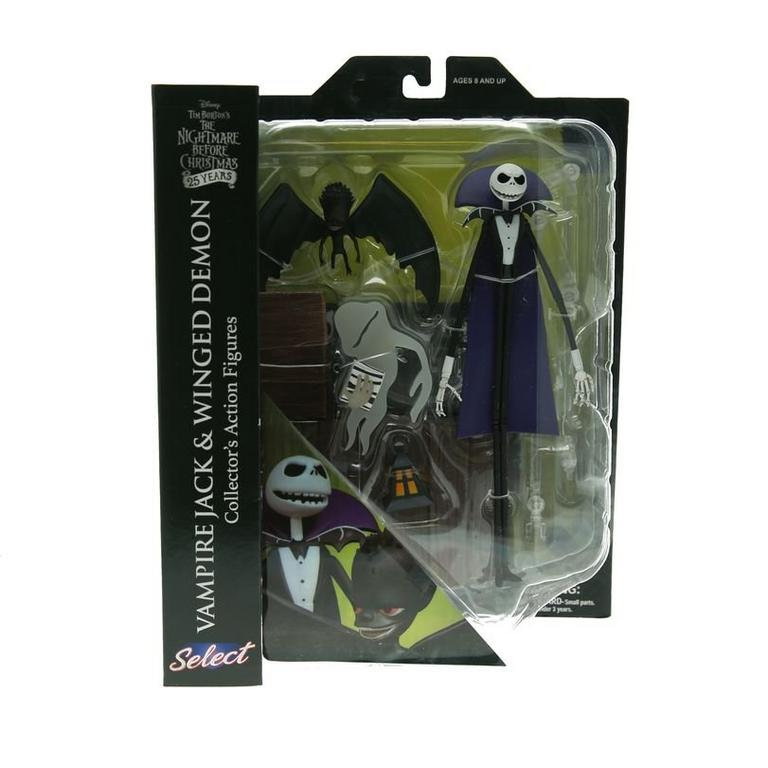 The Nightmare Before Christmas Vampire Jack and Winged Demon Select Series 5 Action Figure