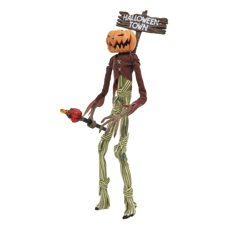 The Nightmare Before Christmas Pumpkin King Jack Silver Anniversary Action Figure