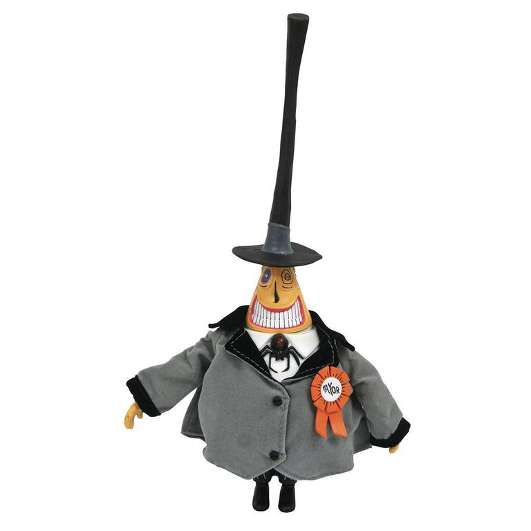 The Nightmare Before Christmas Mayor Silver Anniversary Action Figure