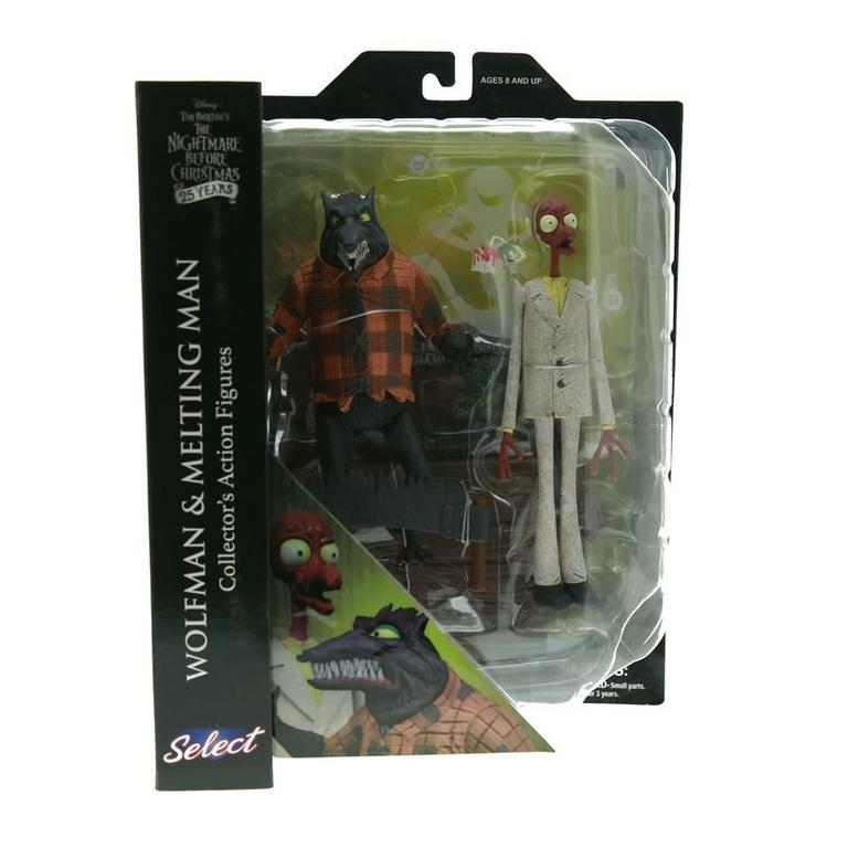 The Nightmare Before Christmas Wolfman and Melting Man Select Series 5 Action Figure