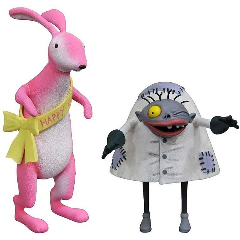 The Nightmare Before Christmas Easter Bunny and Igor Select Series 5 Action Figure
