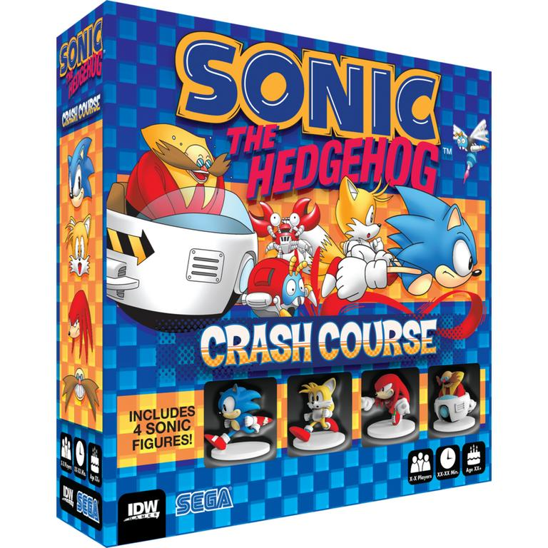 Sonic The Hedgehog: Crash Course Board Game Only at GameStop