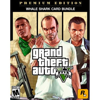 Grand Theft Auto V, Criminal Enterprise Starter Pack and Whale Shark Card Bundle