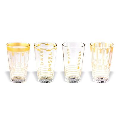 Solo: A Star Wars Story - Lando Housewares 4 Piece Pint Glass Set