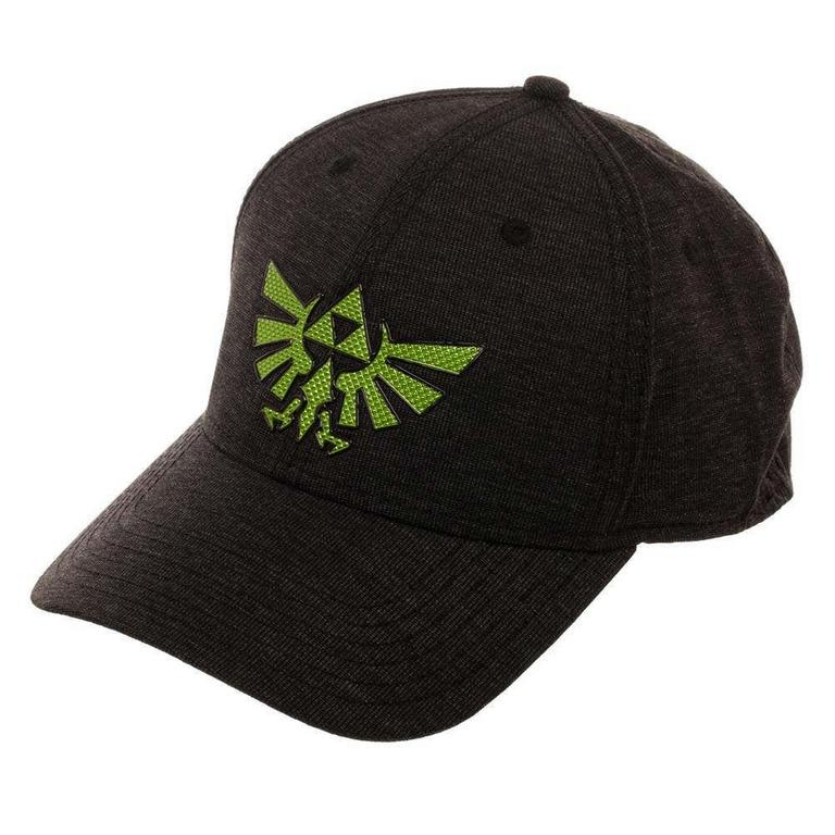 The Legend of Zelda Hyrule Crest Chrome Baseball Cap