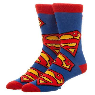 DC Superman Crew Socks