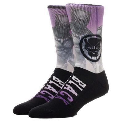 Black Panther Knit Socks
