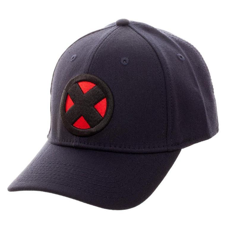 Marvel X-Men Team X Logo Flex Baseball Cap