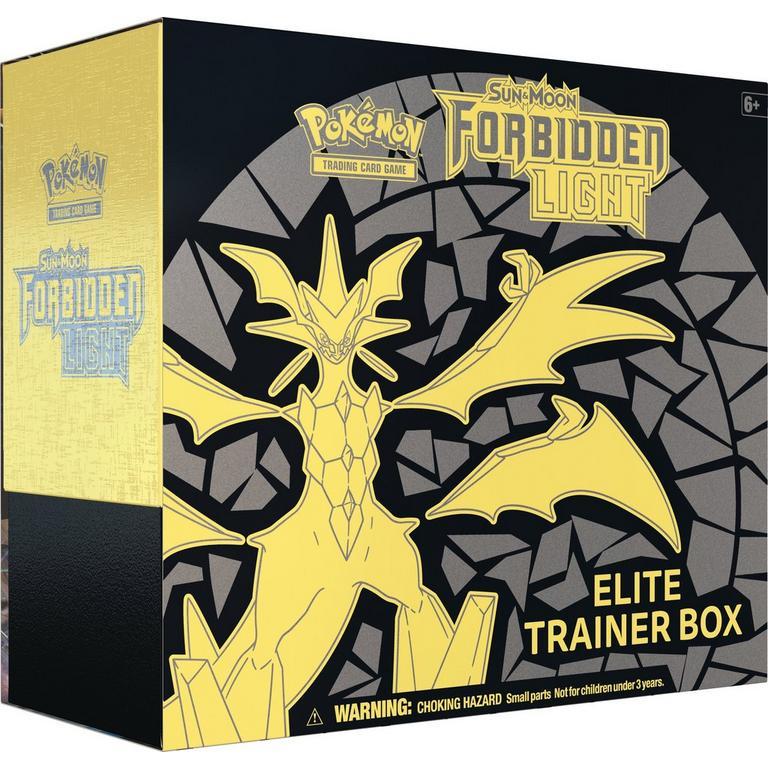 Pokemon Trading Card Game: Sun and Moon Forbidden Light Elite Trainer Box
