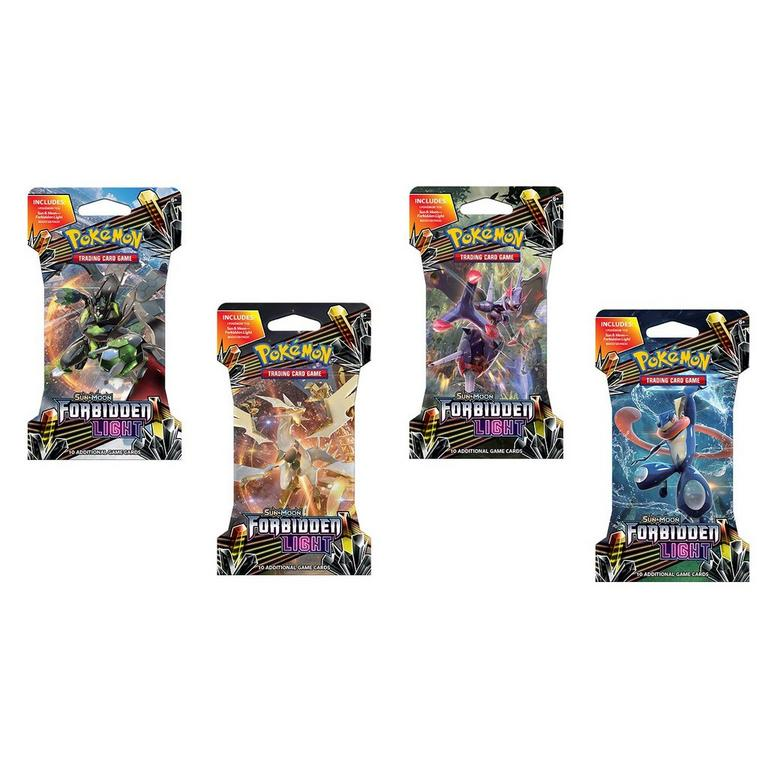 Pokemon Trading Card Game: Sun and Moon Forbidden Light Booster Pack