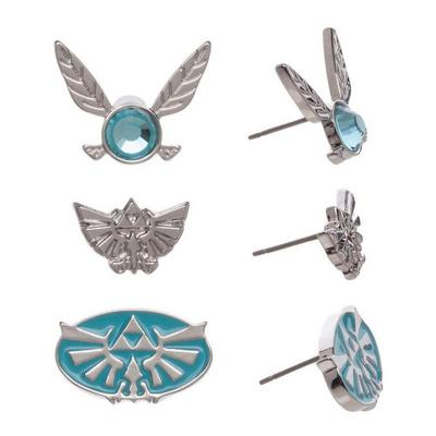 The Legend Of Zelda Earrings 3 Pack