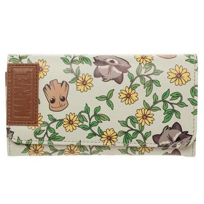Guardians of the Galaxy Groot Juniors Flap Fold Wallet