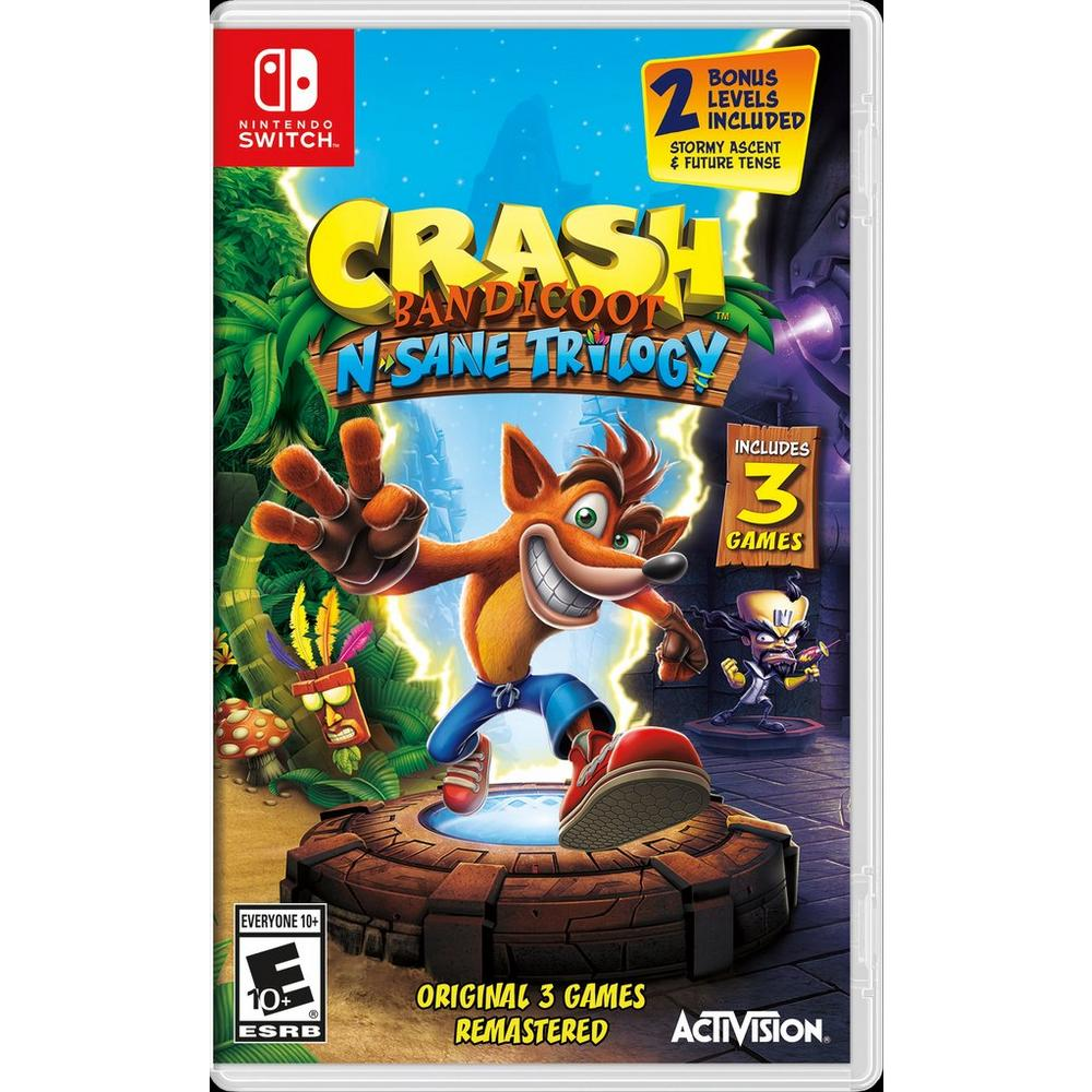 Crash Bandicoot N  Sane Trilogy | Nintendo Switch | GameStop