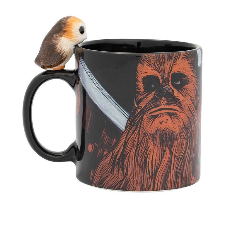 Star Wars Peeking Porg Sculpted Ceramic Mug