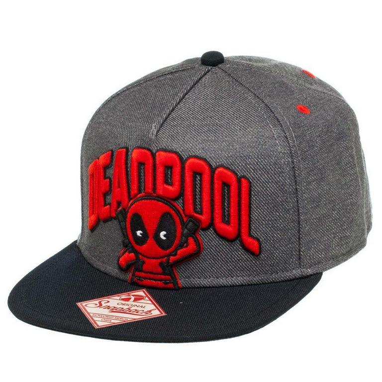 Deadpool Chibi Logo Baseball Cap