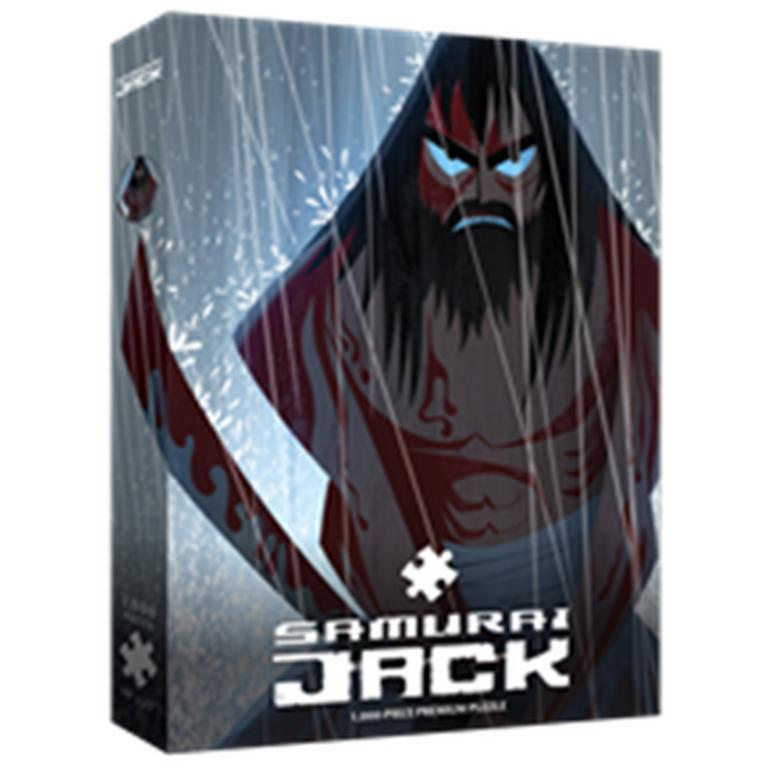 Samurai Jack Fury 1000 Piece Puzzle - Only at GameStop