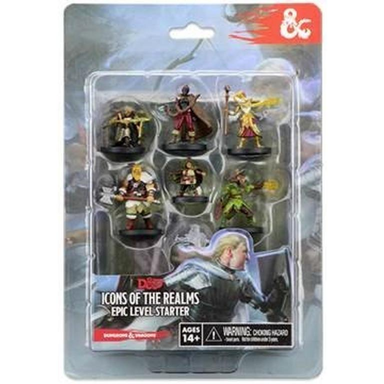 Dungeons and Dragons Icons of the Realms Epic Level Starter Miniature Pack