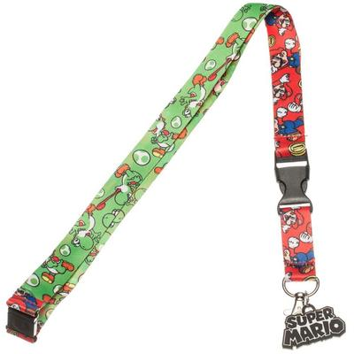 Super Mario Bros. Mario and Yoshi Lanyard