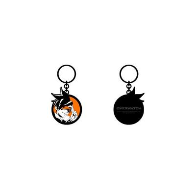 Overwatch Tracer Circle Keychain