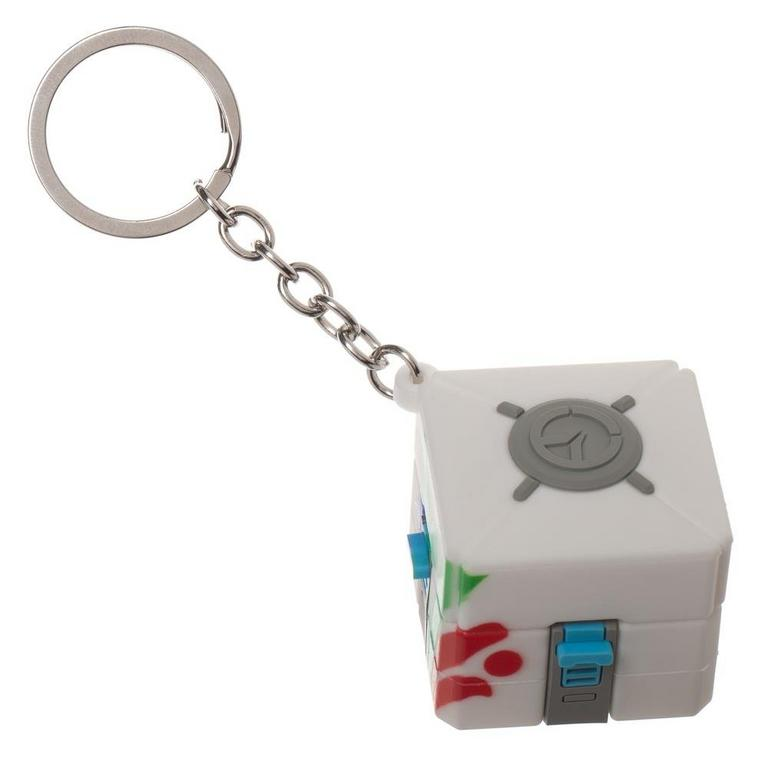Overwatch Loot Box Keychain