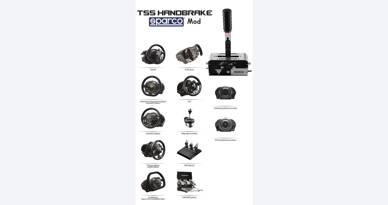 TSS Handbrake Sparco Mod Shifter & Handbrake