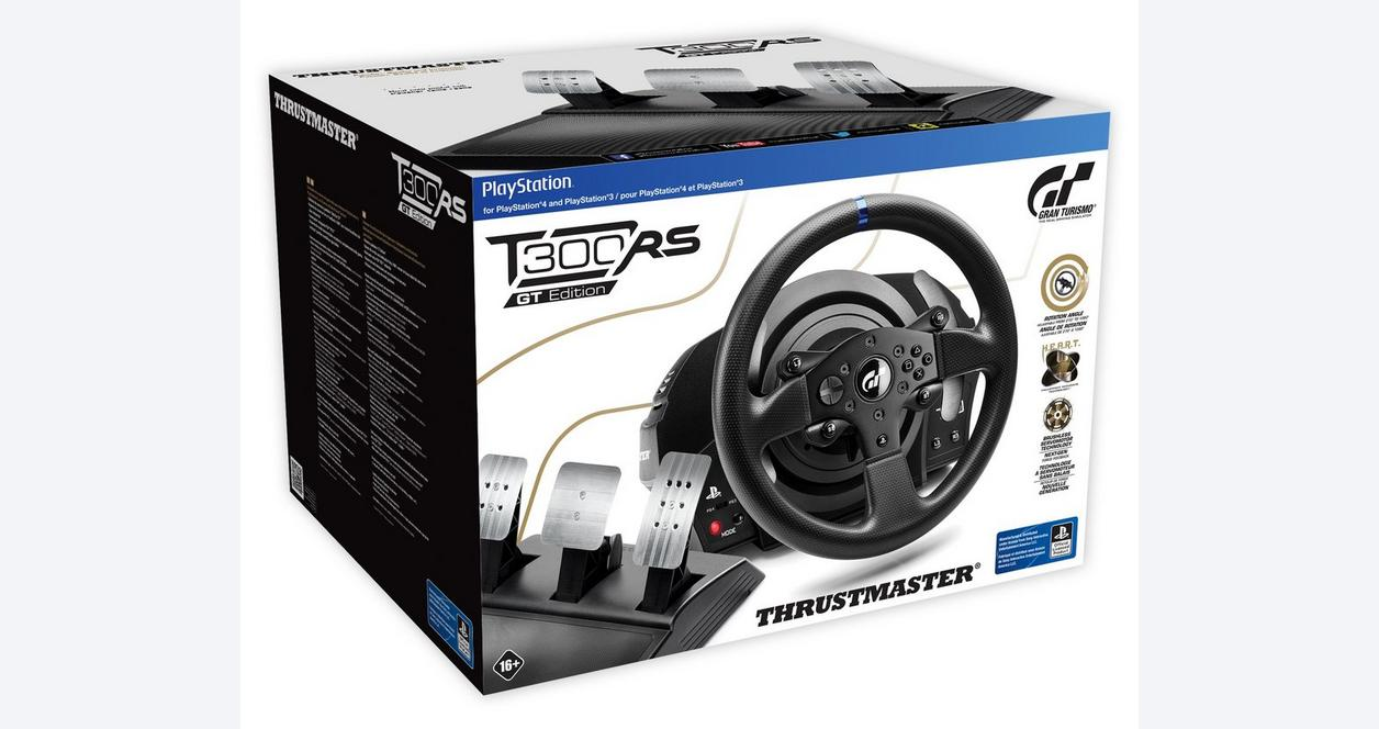 PlayStation 4 T300RS Gran Turismo Edition Racing Wheel