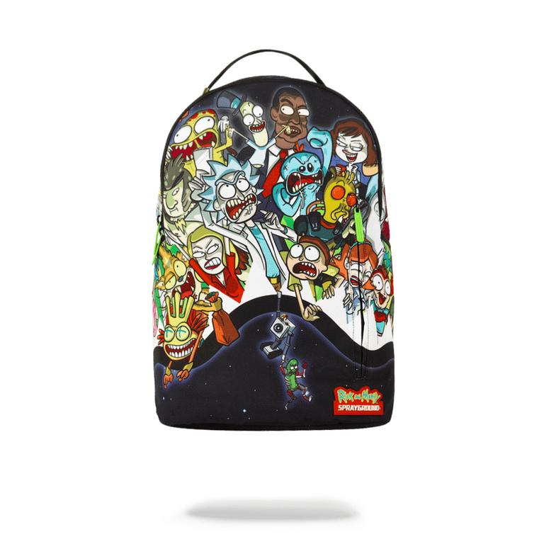 Rick and Morty Portal Party Backpack
