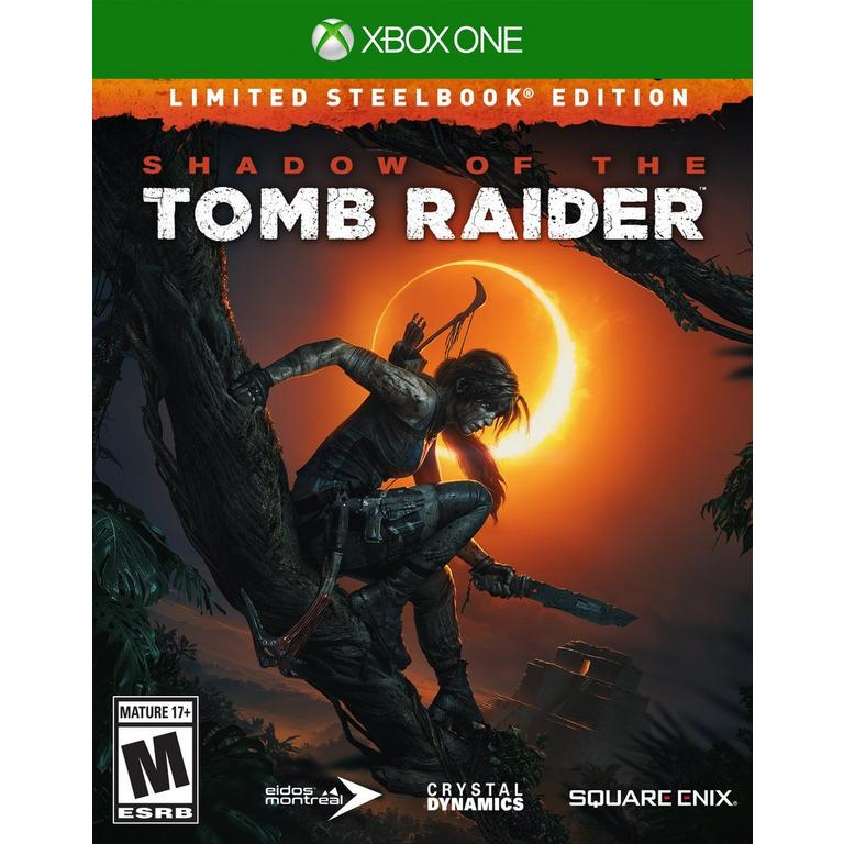 Shadow of the Tomb Raider Limited Steelbook Edition