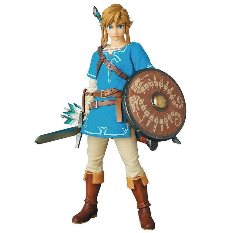 The Legend of Zelda Breath of the Wild Link Medicom Real Action Heroes Figure