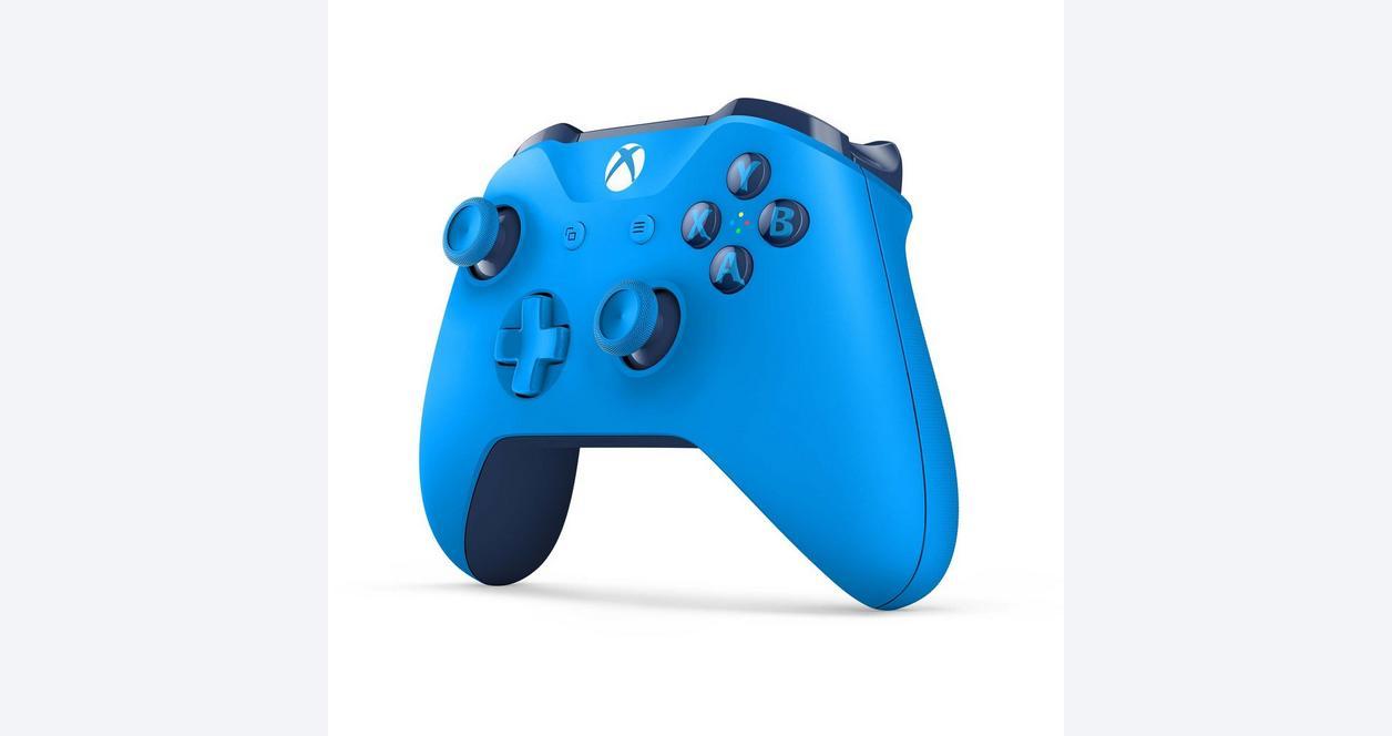 Xbox One Gray/Blue Wireless Controller
