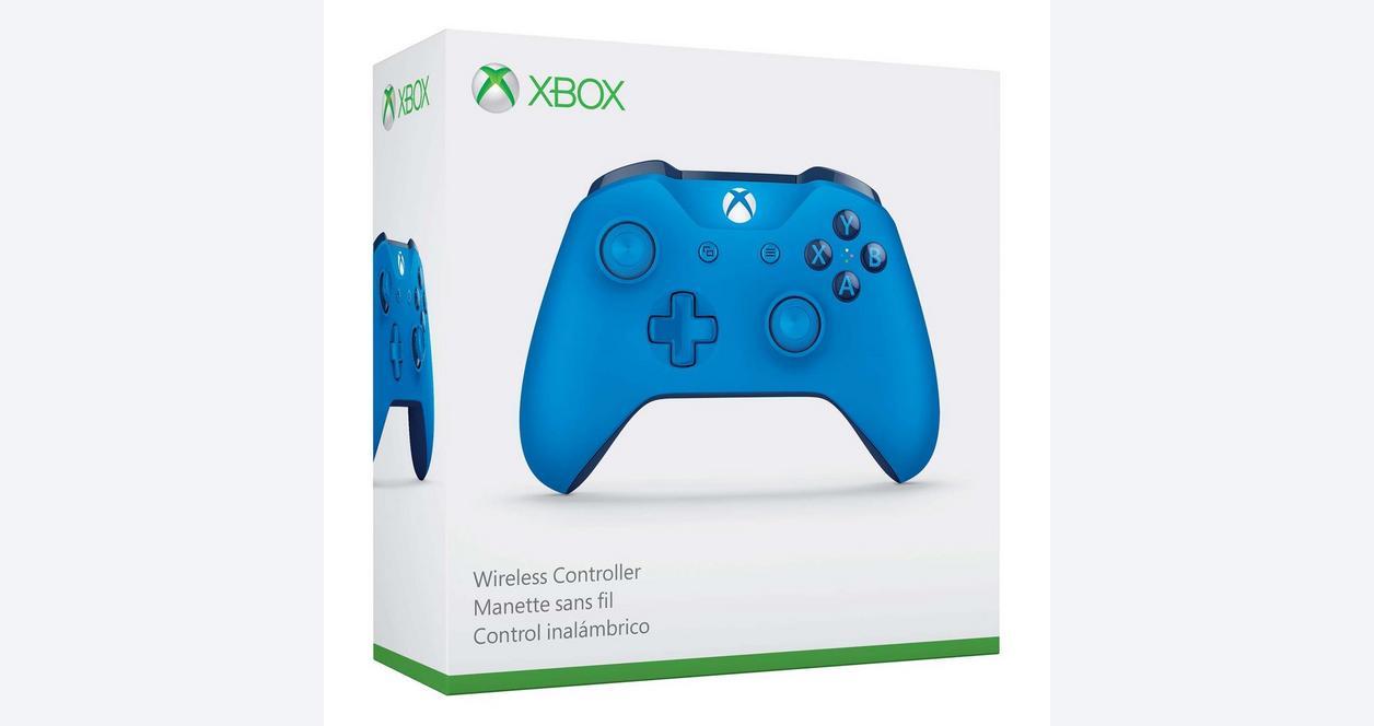 Microsoft Xbox One Gray/Blue Wireless Controller