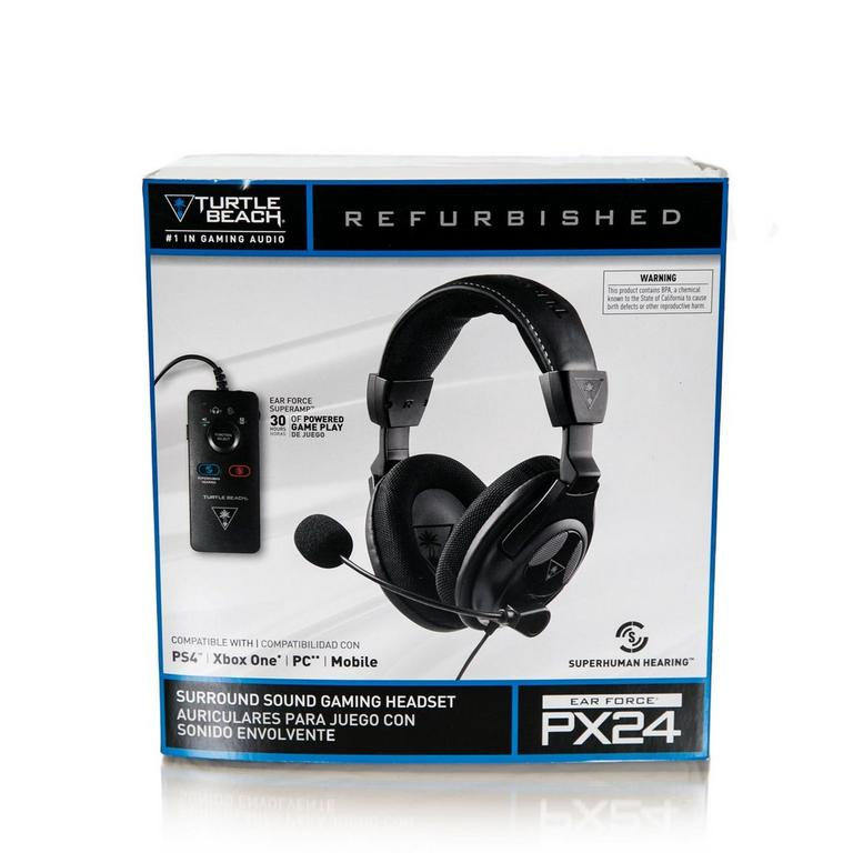 Ear Force PX24 Certified Refurbished Wired Gaming Headset