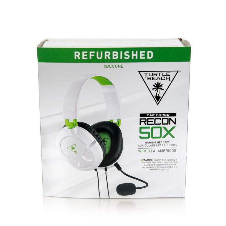 EAR FORCE Recon 50X Gaming Headset - White - Certified Refurbished