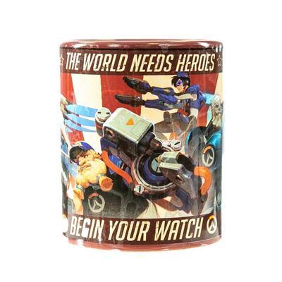 Overwatch Classic Recruiter Poster Mug