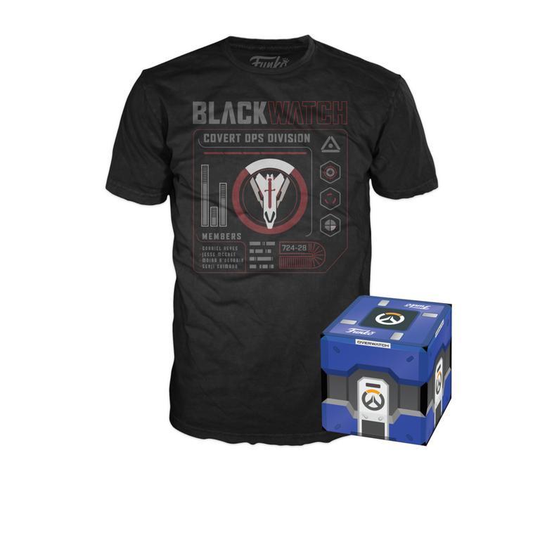POP! Tees: Overwatch Retribution Blackwatch Covert Ops T-Shirt