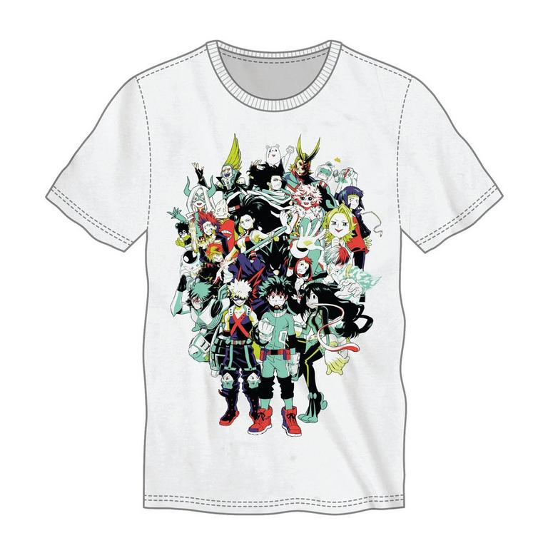 My Hero Academia Large Group T-Shirt
